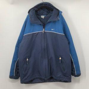 Vintage NIKE Fleece Lined Parka Jacket